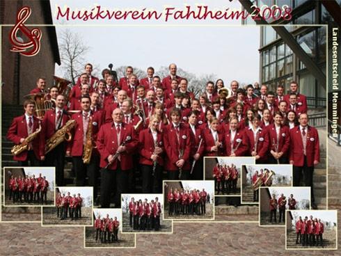 Landesentscheid in Memmingen mit den neuen Uniformen 2008