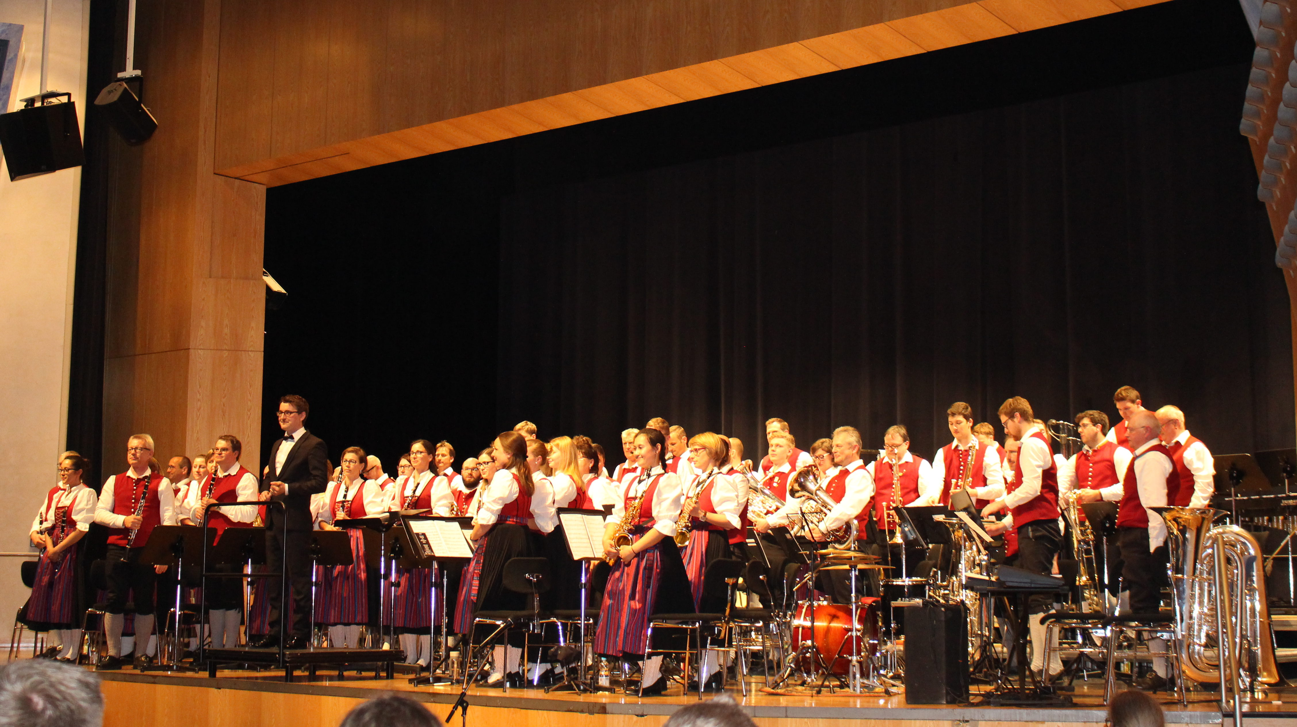 MVK mit Dirigent Lukas Weiss