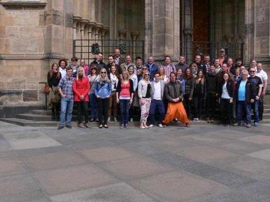 Musiker Ausflug nach Prag