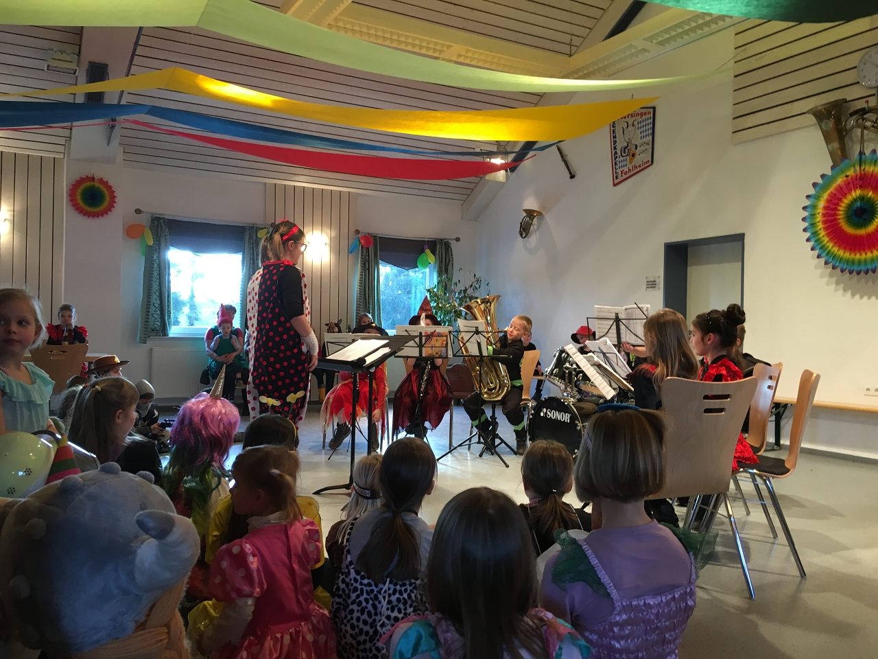 Auftritt unseres Nachwuchsorchesters