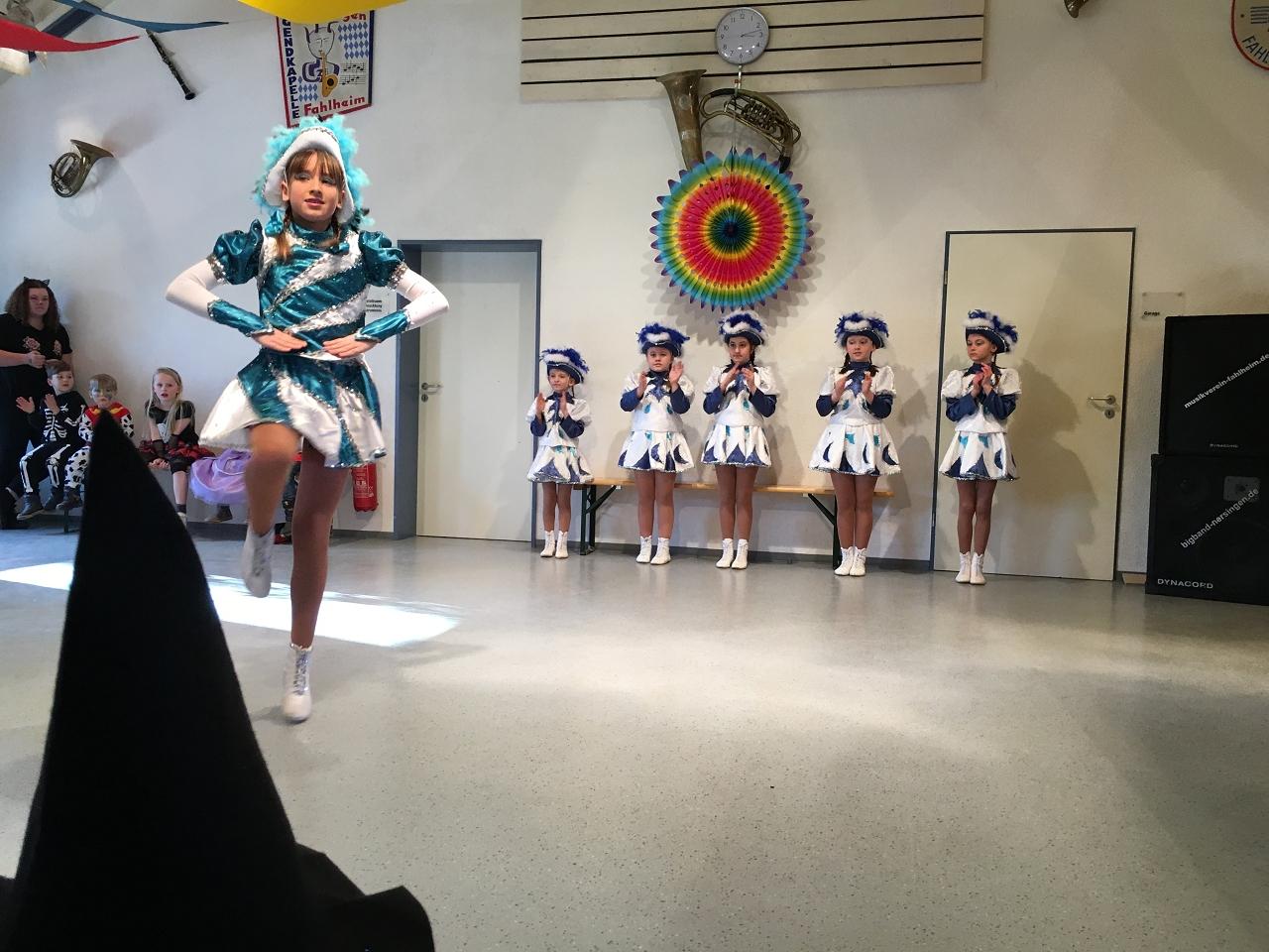 Bühne frei für das Tanzmariechen